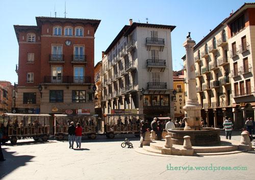 plaza torico con tren 1