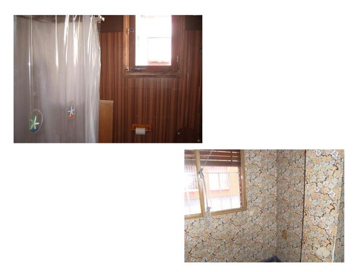 Para entrar a vivir especial paredes verdes los for Papel pintado especial para gotele