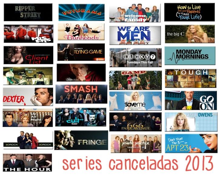 series canceladas 2013