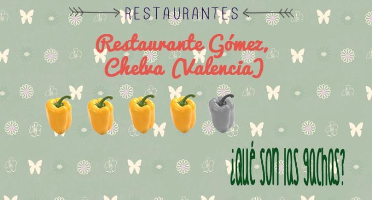restaurante gomez