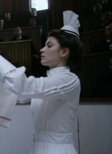sombrerito enfermera knick