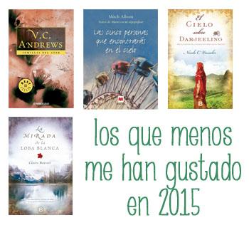 libros menos 2015