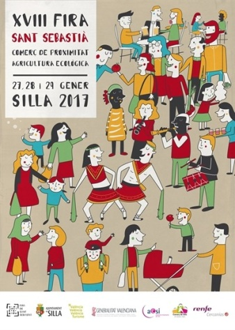 cartell-fira-de-sant-sebastia-2017-de-fernando-martin