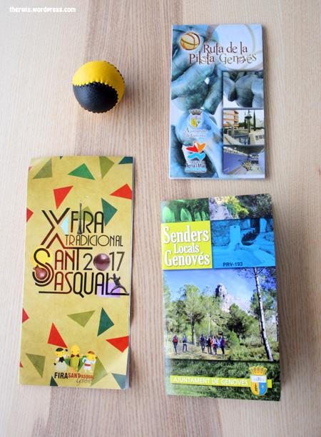 folletos museu de la pilota genovés