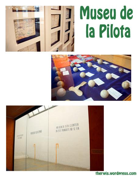 Museu de la pilota Genovés, exposición Papers