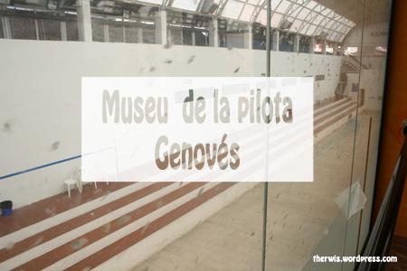 museu de la pilota genovés portada trinquet