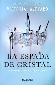 la espada de cristal la reina roja victoria aveyard portada libro