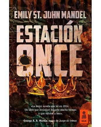 estación once emily st. john mandel libro portada