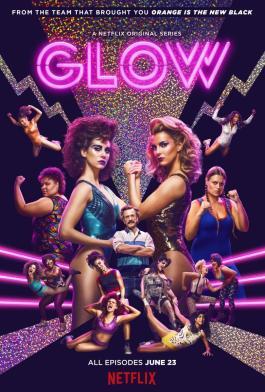 GLOW serie poster cartel