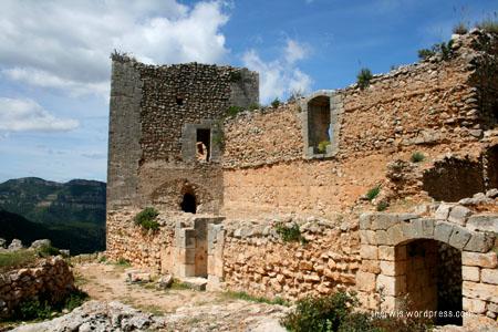 castillo de chirel cortes de pallás valencia cofrentes